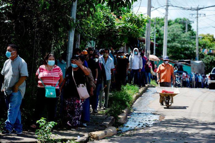 vacunación contra covid-19 Nicaragua