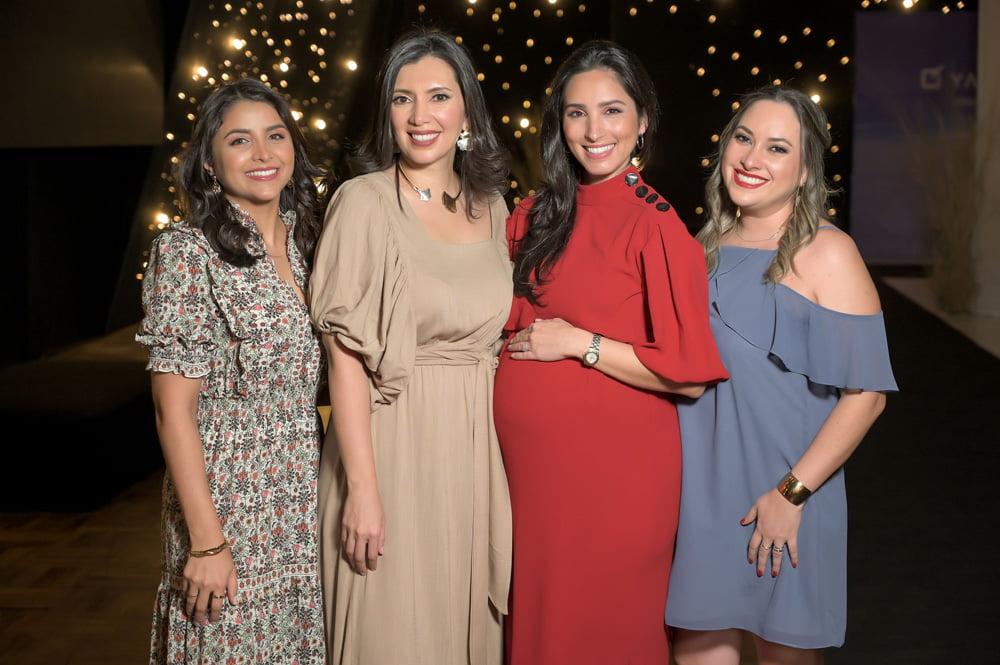 Geraldine Mercado Daniela Fioccetta Graciela Cuellar y Ma. Claudia Nurnberg Yanbal